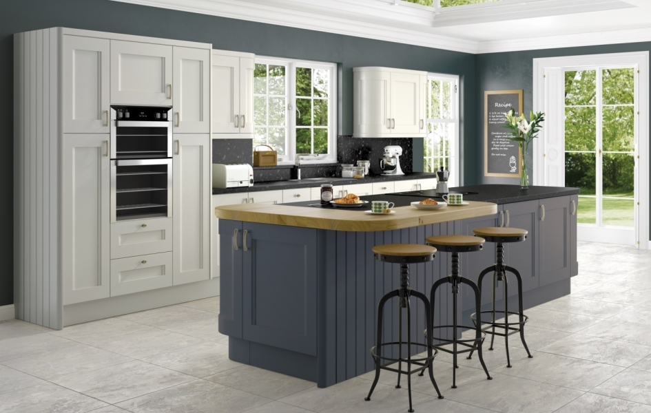 Colonial Kitchens Korona Kitchens - Anthracite grey kitchen