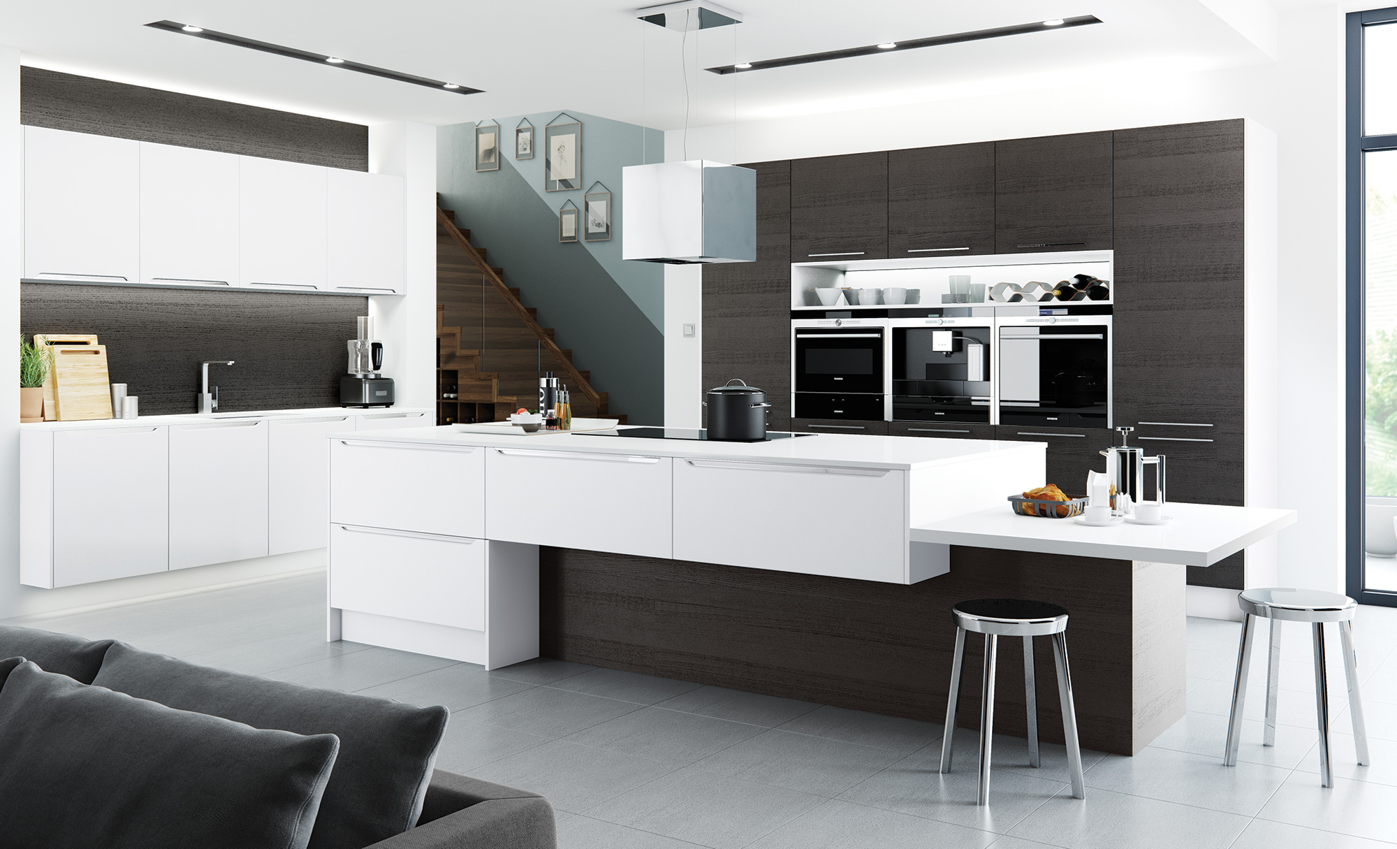 modern-contemporary-olympia-matte-white-tavola-black-brown-ferrara-kitchen-hero