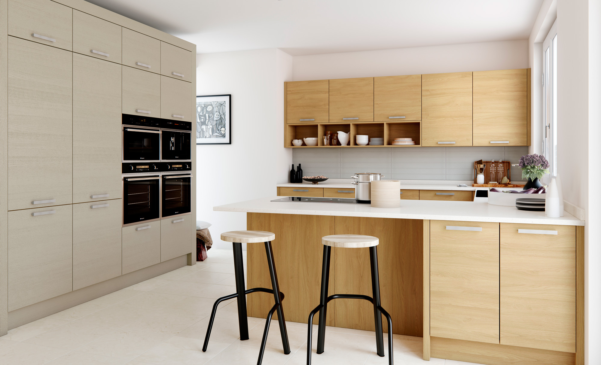 modern-contemporary-tavola-stained-light-oak-painted-light-grey-kitchen-hero